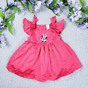 Disney Store baby girl Minnie Mouse Summer dress